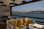 Blu Blu Lounge - Mykonos Cafe serving after hour meals