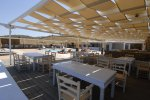 Rayo del Sol - Mykonos Beach Restaurant serving lunch