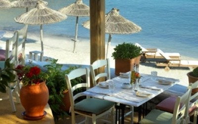 Santa Marina Beach Restaurant & Bar - beach restaurant and bar 1 - Mykonos, Greece