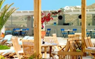 Colonial Pool Restaurant & Bar - colonial - Mykonos, Greece