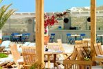 Colonial Pool Restaurant & Bar - Mykonos Restaurant with buffet menu style