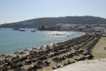 Platis Gialos Beach - Mykonos Beach with parking transportation