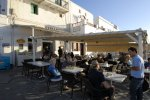 Fatte Crepa - Mykonos Cafe with fast food menu style